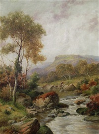 in the aberguynant valley by william henry mander