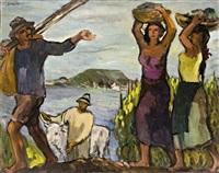 harvest by balaton by aurél emöd