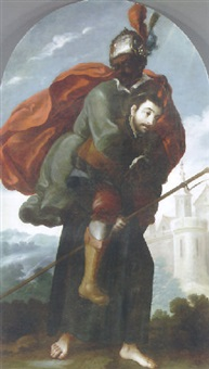 san francisco javier como buen pastor by juan rodríguez juárez