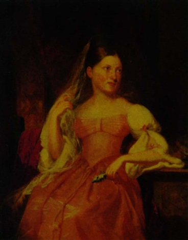 portrait of catherine helena jay by samuel fb morse