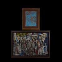 juggler; bazaar (2 works) by pascal cucaro
