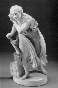 nydia, the blind girl of pompeii by randolph john rogers