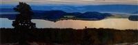 sommarmorgon, värmland by hilding werner