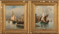 pêcheurs à venise by gabriel amoretti