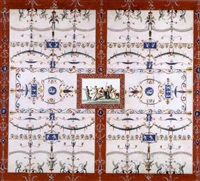 domus aurea (8 works) by franciszek smuglewicz