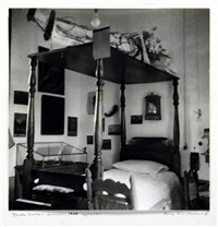 frida kahlo's bedroom-coyoacan (+ 3 others; 4 works) by emmy lou packard