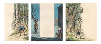 bravo (jean le brave) (3 works) by edgar pierre jacobs