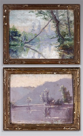 paysages 2 works by gustave moreau