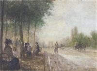 a parisian boulevard by georges renouart
