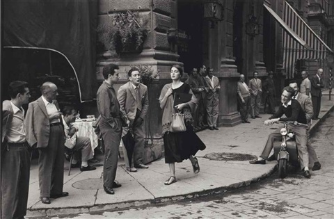 american girl in florence italy by ruth orkin