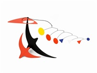 sans titre (hanging mobile) by manuel marin