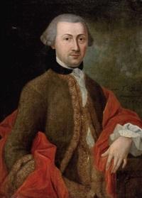 portrait eines adeligen herrn by t. d. loen