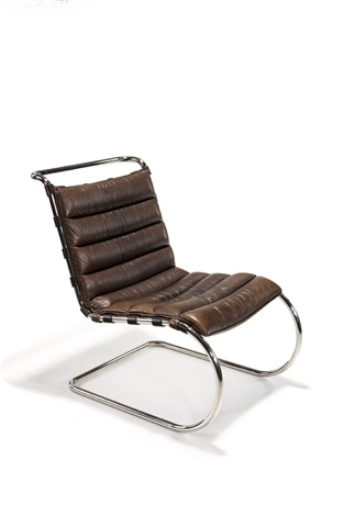 Miraculous Lounge Chair Model Mr By Ludwig Mies Van Der Rohe On Artnet Creativecarmelina Interior Chair Design Creativecarmelinacom