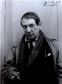 pablo picasso by rogi andré