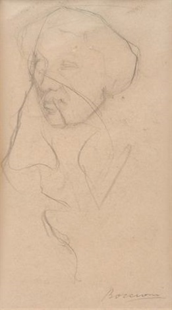 ritratto della madre by umberto boccioni