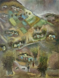 galilee landscape by albert goldman