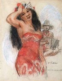 la vahinée et l'accordéoniste by fabien fabiano