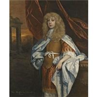 portrait of sir matthew dudley by john greenhill