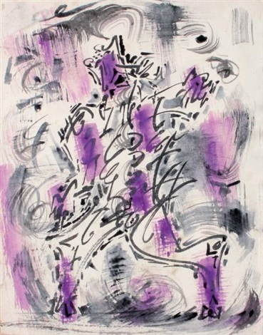 conflit by andré masson