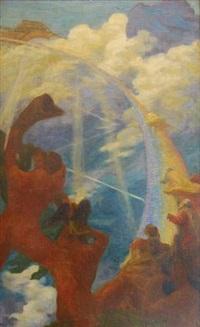 scène mythologique by gaston de fonseca