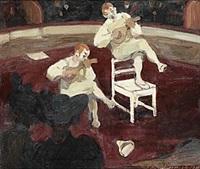 musikaliska clowner by gösta von hennigs