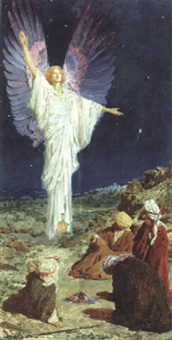 The Angel appearing to the Shepherds, 1906–1906