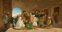 marché aux légumes by lieutenant long