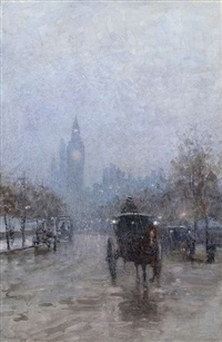 london at sunset by rose maynard barton