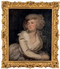 portrait de femme by george romney