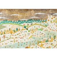 paysage a hivernal by alain thomas