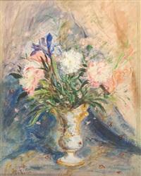 vaso fiorito by pierangelo basorini