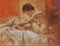 nudo femminile by alfredo sablautzki