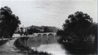richmond bridge by r. allan