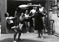 gymnastics class by brassaï