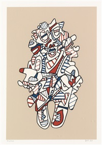objectador by jean dubuffet