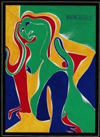 figura femminile by fritz baumgartner