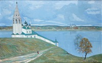 paysage printanier en russie by ilya glazunov