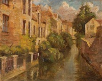 houses on the canal by stelios miliadis