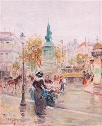scena di vita parigina by pietro scoppetta