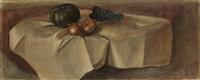 fruits sur une nappe by andré derain