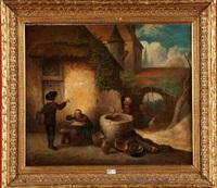 le colporteur by félix van den eycken