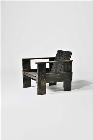 fauteuil model crate by gerrit rietveld