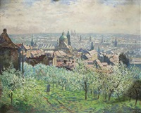 spring in the lesser quarter by jaroslav simunek