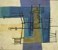 estructura cental en azul i by alberto delmonte