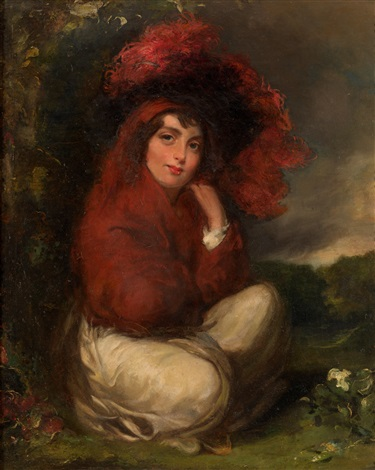 the gypsy girl by john opie