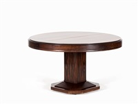 art deco dining table by louis majorelle