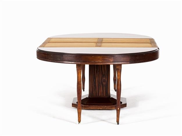 Art Deco Dining Table By Louis Majorelle On Artnet