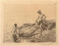 seaward skerries by anders zorn