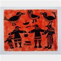 bird humans by kenojuak ashevak