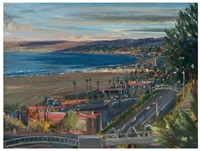 coast highway/santa monica by larry cohen